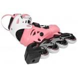 Ролери POWERSLIDE PHUZION Orbit Girls, pink/black/white